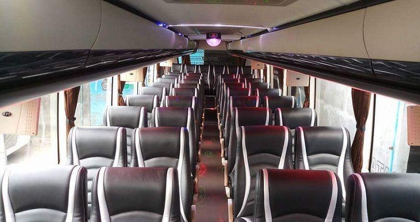 Interior Sewa Bus Semarang