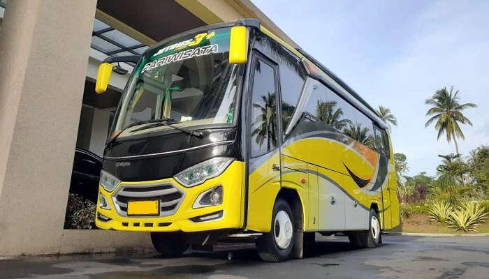 Sewa Bus Medium Sedang 34 Seat