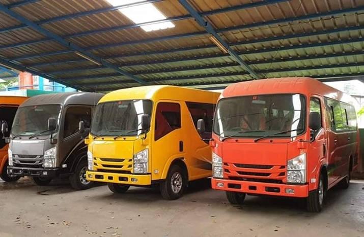 Harga Sewa Minibus Elf Giga Di Pangkal Pinang