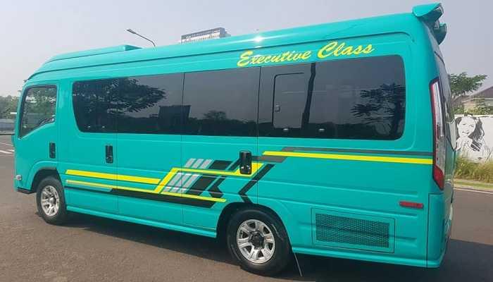 Sewa Minibus Isuzu Elf Giga Di Bengkulu
