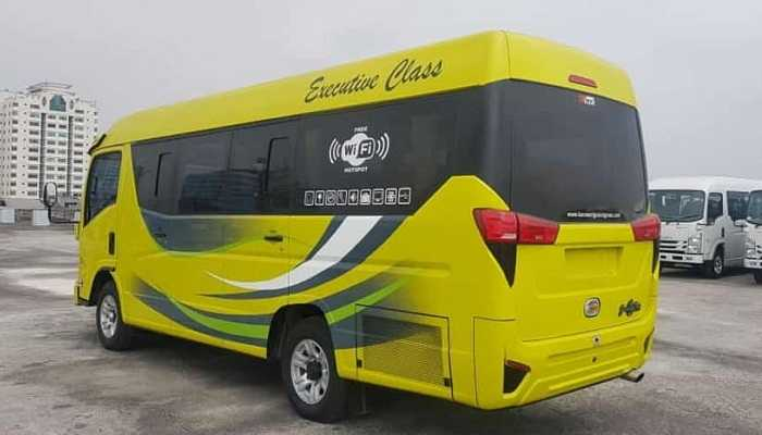 Sewa Minibus Isuzu Elf Giga Di Jambi