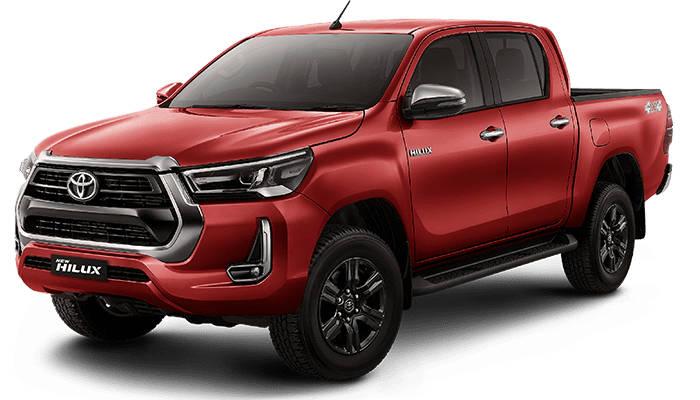 Sewa Toyota Hilux Double Cabin